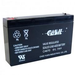 Аккумулятор Casil CA670 (6V, 7Ah)